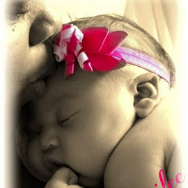 Baby and i by Deanna Griffith - Typography Captioned Photos ( mothers, mother, precious, priceless, baby )