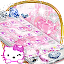 Kitten pink diamonds sweet princess theme