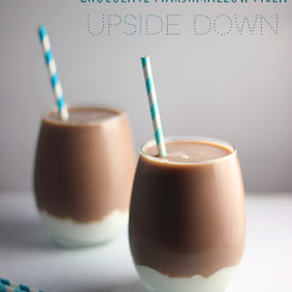 Chocolate Marshmallow Milk Upside Down Recipe with TruMoo