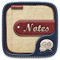 GO SMS PRO NOTES THEME APK for Bluestacks