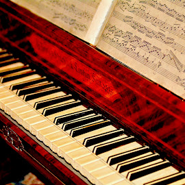 An early piano during the 1700's! by Victoria Eversole - Artistic Objects Musical Instruments ( 1700's, musical instrument, historical pianos. )