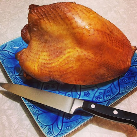 Brined and Smoked Turkey Breast