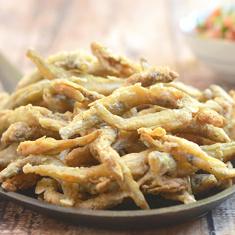 Crispy Fried Smelt Fish