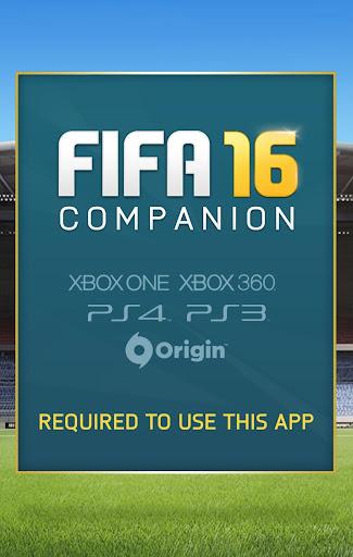 EA SPORTS™ FIFA 16 Companion screenshot 1