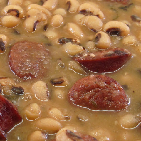 Smoked Sausage and Black-Eyed Peas