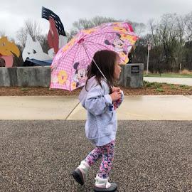 Rainy Day Fun by Debra Rebro - Babies & Children Child Portraits