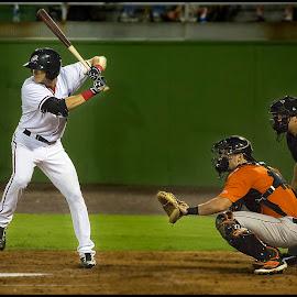 Alec Keller by Elk Baiter - Sports & Fitness Baseball ( left fielder, baseball, sports, nationals, game, batter, potomac )
