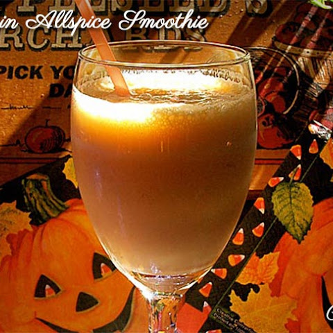 Pumpkin Allspice Smoothie