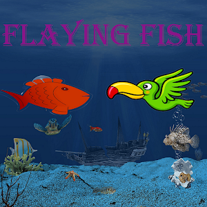 Flying fish game- flying bird games & Flappy games For PC (Windows & MAC)
