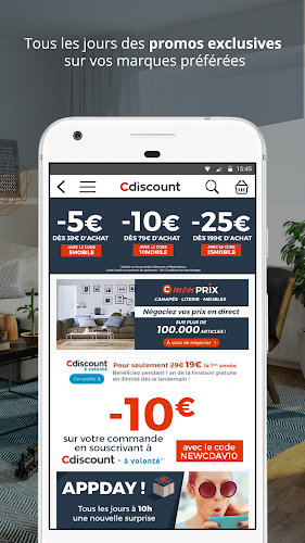 Cdiscount shopping Android App Screenshot