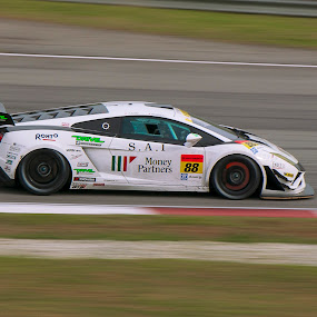 SuperGT in Malaysia by Edwin Ng - Sports & Fitness Motorsports ( car, super, spit, gt, malaysia, glow, fire )
