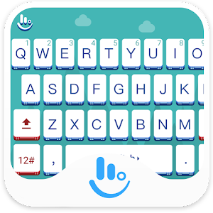 Cover art TouchPal Snow Covered Keyboard