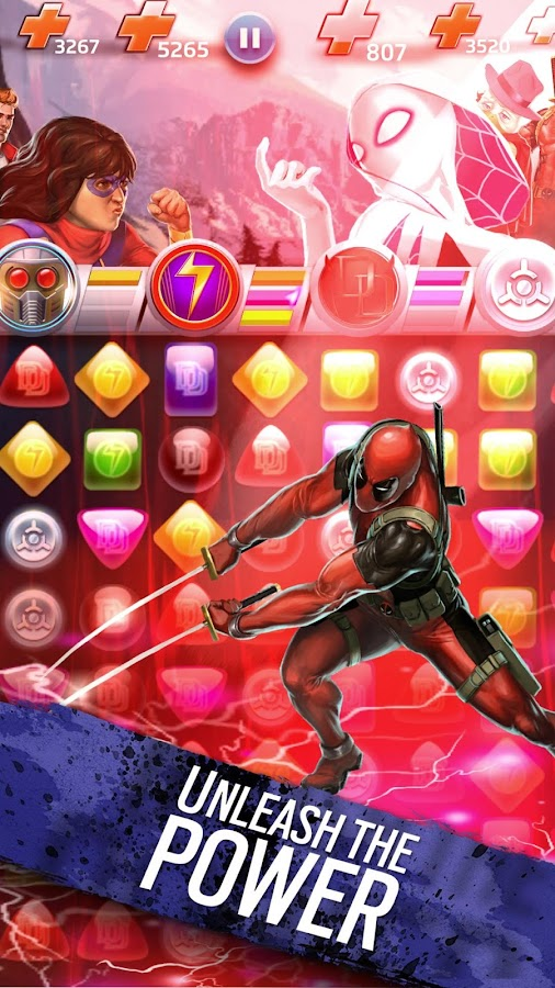 Marvel Puzzle Quest Screenshot 10