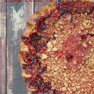 Cherry Crunch Pie