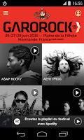 Screenshot of Festival Garorock 2015