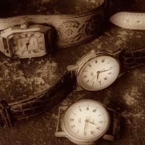 Time by Zenonas Meškauskas - Artistic Objects Antiques ( time, old, vintage, objects, watches, antiques )