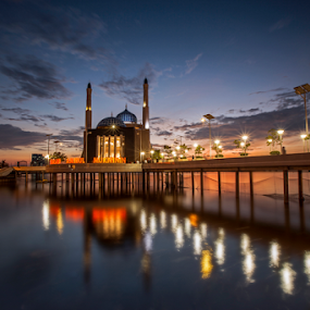 Floating Mosque  by Esther Pupung - Buildings & Architecture Places of Worship