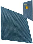Пластина Baseplate для конструкторов, серая, одностороняя