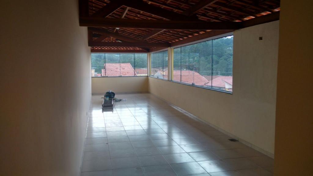 Sobrado residencial para locação, Jardim Rosa de Franca, Gua