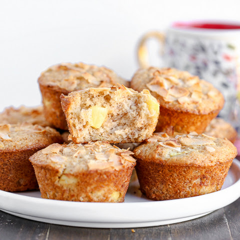 Vegan Pineapple Coconut Muffins