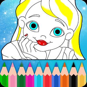 Pretty Princess Coloring For PC (Windows & MAC)