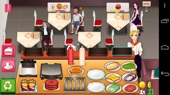 Hamburger Fever - screenshot