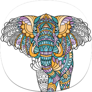 Animal lovers will enjoy free Animal Coloring Pages in this adult coloring book. APK Icon
