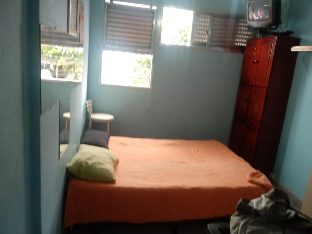 Kitnet com 1 dormitório à venda, 20 m² por R$ 100.000 - Itararé - São Vicente/SP