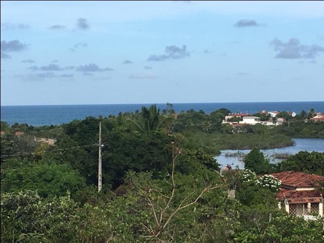 Lote 15x60 com vista para o mar em Tabatinga