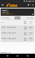 Screenshot of Time tracker - Mobile Worker