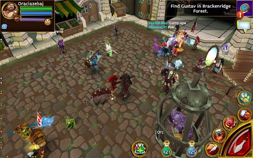 Game Arcane Legends MMO-Action RPG APK for Kindle