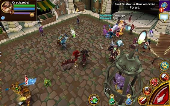 légendes Arcane: mmorpg apk screenshot