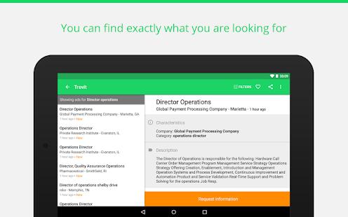 App Find job offers - Trovit Jobs APK for Kindle
