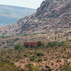 Red Rock Home by Diane Garcia - Buildings & Architecture Homes ( desert, red rock canyonm, house, landscape )