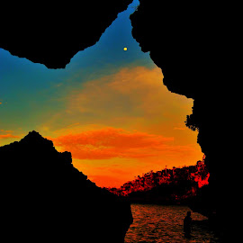 Stony Hour  by Helton Balairos - Nature Up Close Rock & Stone