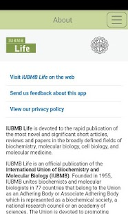 IUBMB Life - screenshot