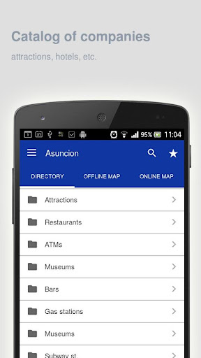 Asuncion Map offline screenshot 10