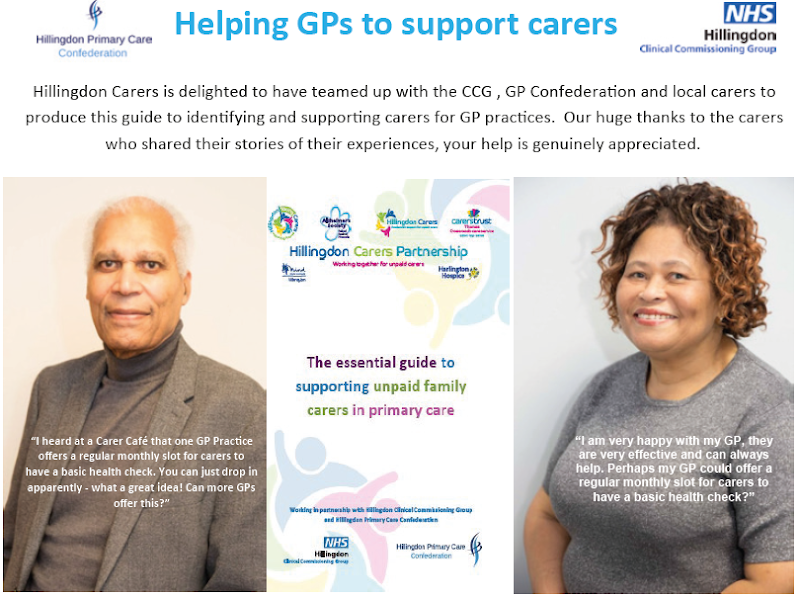 Guide for GPs to identify and support the carers