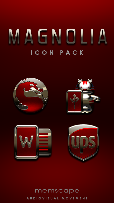MAGNOLIA Icon Pack Screenshot
