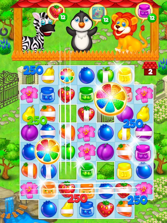 Zoo Rescue: Match 3 & Animals Screenshot 1