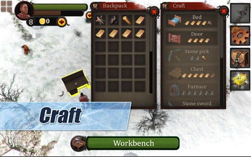 Free Download Winter Island CRAFTING GAME 3D APK for Samsung