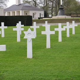 American cemetery Cambridge by Janet Matthews - City,  Street & Park  Cemeteries
