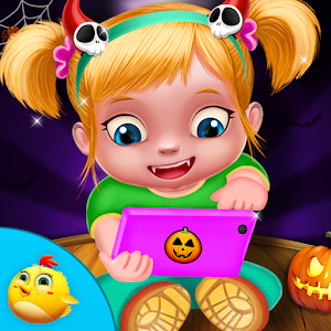 Halloween Baby Phone Game