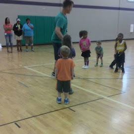 Jonathan at basketball practice by Kayleigh Nicole Kaeser - Babies & Children Toddlers