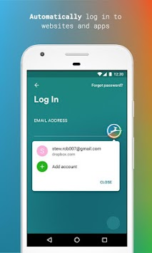Dashlane Free Password Manager APK screenshot thumbnail 2