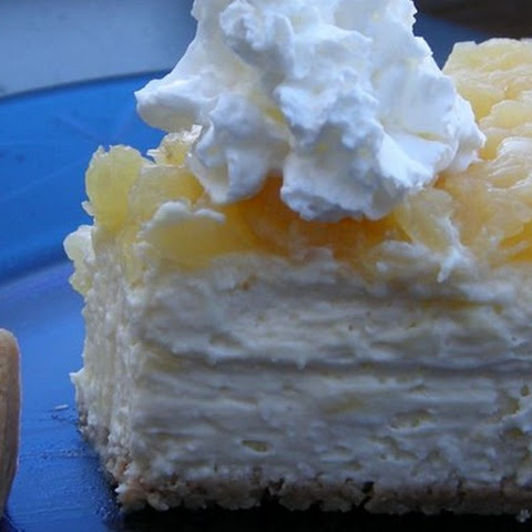 Pineapple Cheesecake Squares