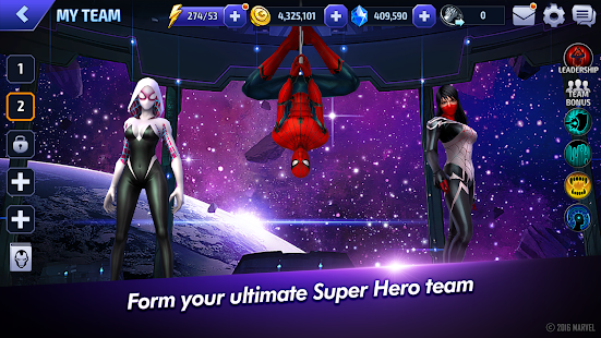 Free MARVEL Future Fight APK for Windows 8