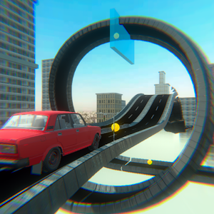 Download Impossible Stunt Lada 2106 Car For PC Windows and Mac