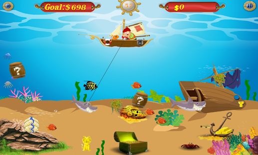 Gold Miner Sea - screenshot