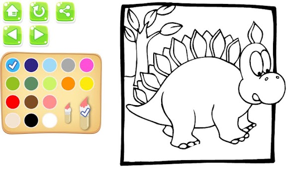 My Dino Coloring Book For Kids Apk Screenshot